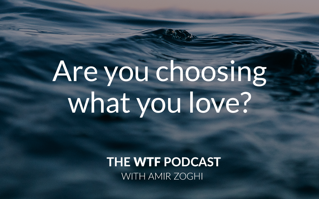 The WTF Podcast – Episode 8: Are you choosing what you love?