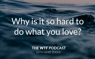 The WTF Podcast – Episode 5: Why is it so hard to do what you love?