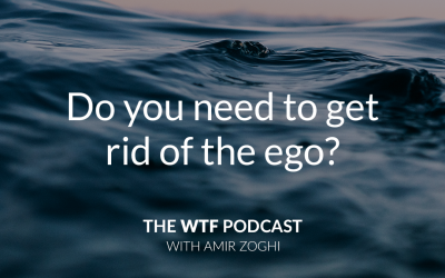 The WTF Podcast – Episode 17: Do you need to get rid of the ego?
