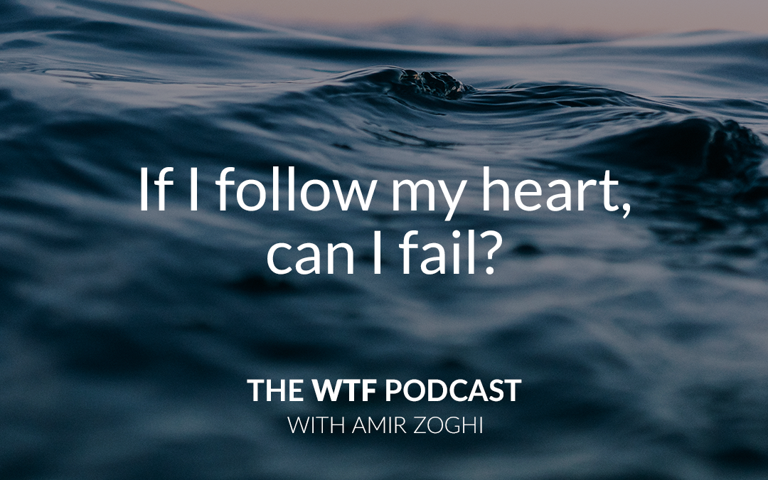 The WTF Podcast – Episode 22: If You Follow Your Heart, Can You Fail?