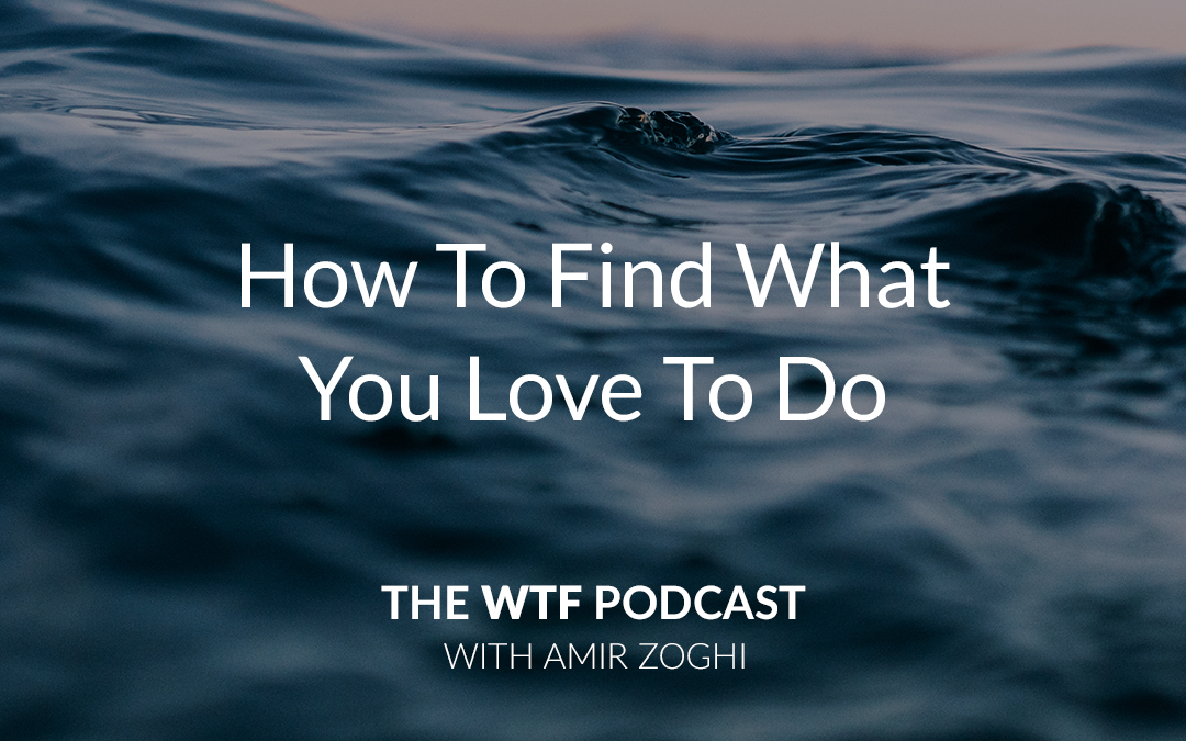 The WTF Podcast – Ep32: How To Find What You Love To Do