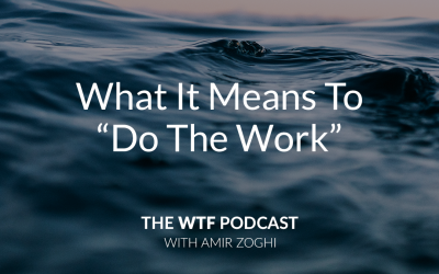 "The WTF Podcast – Ep35: What It Means To ""Do The Work"""