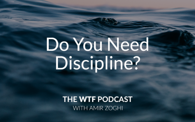 The WTF Podcast – Ep41: Do you need discipline?