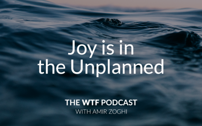 The WTF Podcast – Ep47: Joy is in the Unplanned